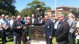 Unveiling and dedication of WW1 statue